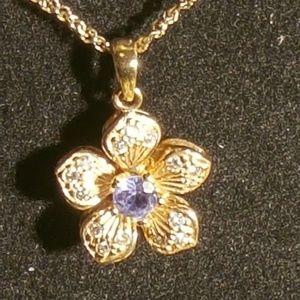 14  K gold necklace